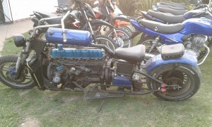 Fakcon engine in motorcycle